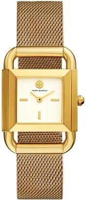 Tory Burch Phipps Watch, Gold-Tone, 29 X 41 Mm