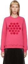 Mary Katrantzou Pink Hexagon Sweatshirt