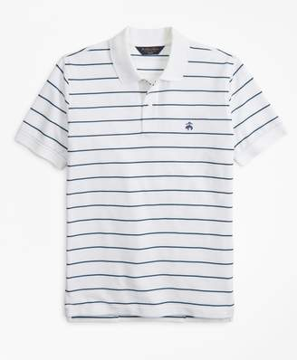Brooks Brothers Slim Fit Thin Stripe Polo Shirt