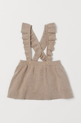 H&M Fine-knit Skirt with Straps