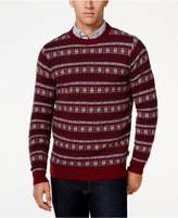 Barbour Men's Harvard Fair Isle Crew-Neck Sweater