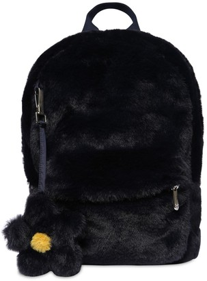 Il Gufo Faux Fur Backpack