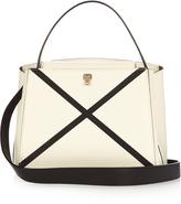 Valextra Triennale mini grained-leather cross-body bag