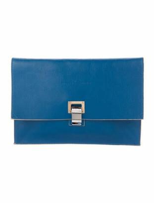 Proenza Schouler Small Lunch Bag Blue