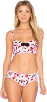 Kate Spade Bay of Roses Bralette Bikini Top