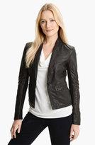 MICHAEL Michael Kors Leather Blazer