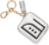 Anya Hindmarch Iron embossed textured-leather key wallet