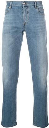 Balmain Side Band Slim-Fit Jeans