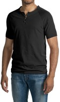 Threads 4 Thought Pigment-Dyed Henley Shirt - Organic Cotton, Short Sleeve (For Men)