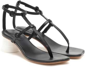 MM6 MAISON MARGIELA Leather sandals