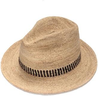 Justine Hats Stylish Fedora Straw Hat