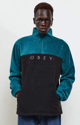 Obey Channel Mock Neck Pullover