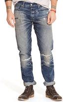 Ralph Lauren Straight-fit Splattered Jean