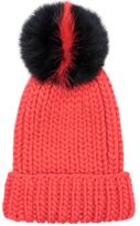 Eugenia Kim Rain Wool Fox Fur Beanie