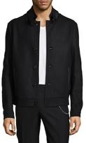 The Kooples Wool Solid Jacket