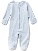 Starting Out Baby Boys Newborn-6 Months Animal Footed Coverall