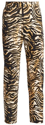 Rachel Comey Tesoro Tiger-Stripe Jeans