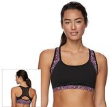 Gaiam Bra: Divine Medium-Impact Yoga Sports Bra GKW171BRDV