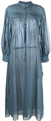 Etoile Isabel Marant Gathered Shirt Dress