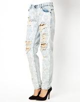 One Teaspoon Awesome Baggies Jeans in Spaceboy - Blue