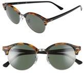 Ray-Ban 'Clubround' 51mm Round Sunglasses