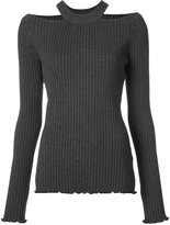Jason Wu cutout ribbed top