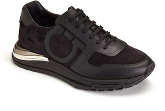 Salvatore Ferragamo Men's Brooklyn Gancio Sneakers