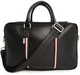 Ben Sherman Black Double-Zip Briefcase