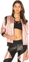 Lanston SPORT Johnson Bomber in Rose. - size L (also in M,S,XS)