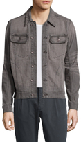 William Rast Erwin Faded Denim Jacket