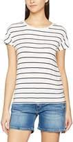 Vero Moda Women's Vmcharly Stripe/Dot O-Neck Ss Top Noos T-Shirt