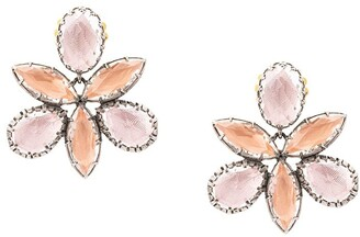 Larkspur & Hawk Sadie Orchid Ballet stud earrings