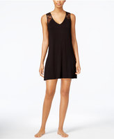 Thalia Sodi Lace-Yoke Knit Chemise, Created for Macy's