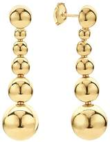 Lagos Caviar Gold Collection 18K Gold Graduated Six Bead Drop Earrings