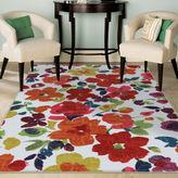 Mohawk Home Bright Floral Toss Rectangular Rug