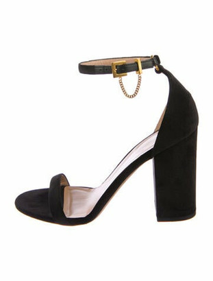 Valentino Chain-Link Accents Sandals Black