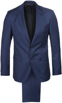 Boss Jewels/linus Navy Textured Two Piece Suit