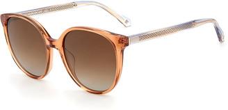 Kate Spade Kimberlyn Oversized Round Acetate Sunglasses