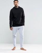 Asos Loungewear Skinny Joggers In Light Grey