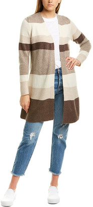 Hannah Rose Wool & Cashmere-Blend Cardigan