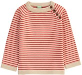 FUB Wool Sailor Pullover with Shoulder Buttons