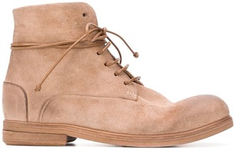 Marsèll Textured Lace-Up Boots