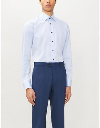 Eton Signature Twill slim-fit cotton shirt