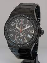 Black Diamond Aqua Master Men'S Diamond Watch
