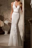 Morilee Sleeveless Mermaid Bridal Gown
