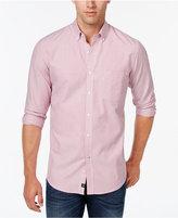 Club Room Men's Big and Tall Stripe Long-Sleeve Shirt
