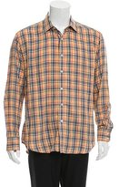 Robert Graham Madras Plaid Button-Up Shirt