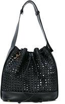 Corto Moltedo woven bucket bag - women - Calf Leather - One Size