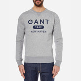 Gant Men's Athletics Crew Neck Sweatshirt