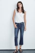 Twiggy High Rise Crop Jean In Classic